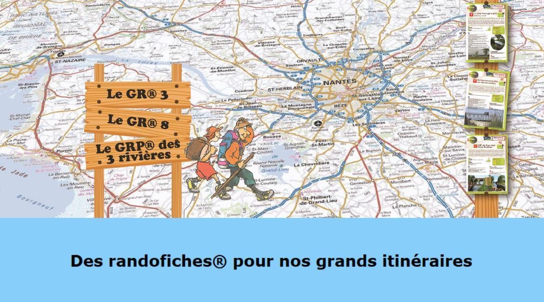 LOIRE-ATLANTIQUE : Les Randofiches®