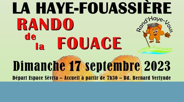 LA HAYE-FOUASSIÈRE : Rando de la Fouace
