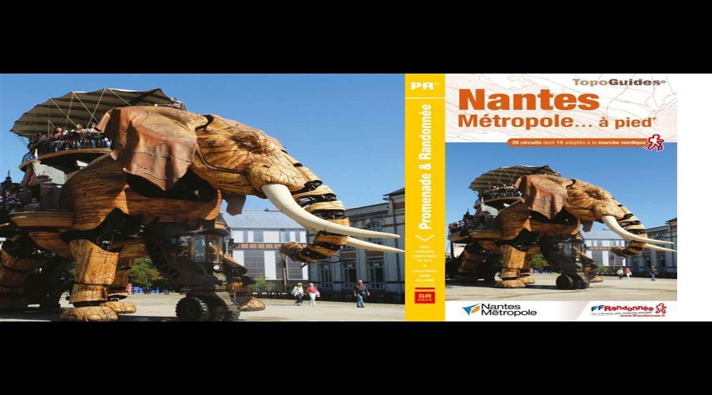 Déviation sur le GR® de pays Nantes Métropole en Loire-Atlantique
